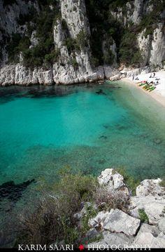 Calanque d'en vau Marseille / Cassis France