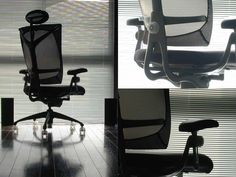 One of the best investmens I have ever made. Vitra Ypsilon Office Chair.