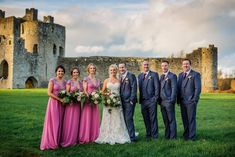 Introducing Mr & Mrs Moran. Pictured is Kilmore, Co.Roscommon native Tony Moran and his wife Rachael shortly after they tied the knot recently. The lads were dressed head toe by Ej Menswear in these subtle grey check tweed suits, with Tony opting for the burgundy waistcoat as the standout piece. Congratulations Tony & Rachael from all the gang at Ej Menswear! Tweed Suits, Bridesmaid Dresses, Wedding Dresses, Mr Mrs, Tie The Knots, Congratulations, Burgundy, Wedding Day, Menswear