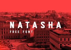 Natasha | FREE FONT on Behance