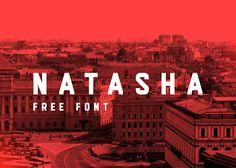 Natasha | FREE FONT on Behance