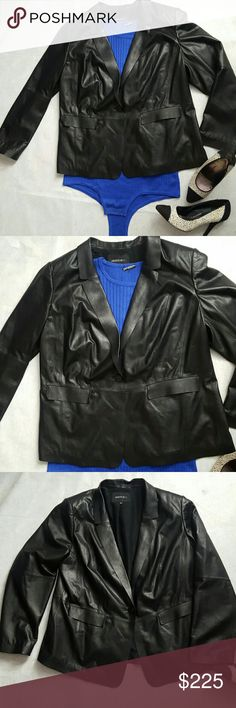 Lafayette 148 New York Leather Blazer The softest leather blazer, with silk and cotton blend lining. In excellent like new condition. Lafayette 148 New York Jackets & Coats Blazers