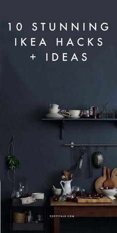 Looking forward to Ikea coming to town next year! 10 Stunning Ikea Hacks + Ideas to bookmark - all from stylists, architects and magazines Ikea Hacks, Hacks Diy, Ikea Stockholm, Diy Casa, Ikea Furniture, Furniture Design, Home And Deco, Home Projects, Home Kitchens