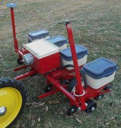 Pedal Planter!  Farm boy heaven!