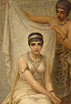 Queen Esther by Edwin Long, 1878 Rennaissance Art, Queen Esther, Biblical Art, Classical Art, Egyptian Art, Ancient Art, Beautiful Paintings, Female Art, Bunt
