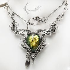 ARCARHTIAL - silver and labradorite by LUNARIEEN.deviantart.com on @DeviantArt