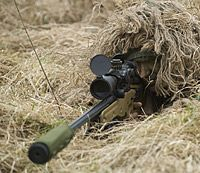 The L115A3 rifle, part of the Sniper System Improvement Programme (SSIP), is a large-calibre weapon which provides state-of-the-art telescopic day and night all-weather sights, increasing a sniper's effective range considerably. The first batch of SSIPs were deployed to Afghanistan in May 2008.