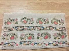 ottoman  embroidery towel great work*****