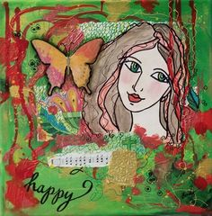Painting Collage, Art Paintings, Body Painting, Collage Art, Mixed Media Collage, Mixed Media Canvas, Sketch Markers, Star Art, Acrylic Canvas