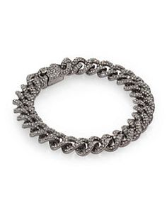 Adriana Orsini - Pave Small Link Bracelet