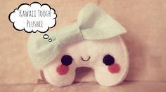 tooth plush, plushie, plushies, plusy, kawaii, cute