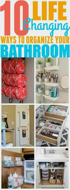 These 10 bathroom organization hacks have helped me organize my bathroom! I neve…  http://www.nicehomedecor.site/2017/07/24/these-10-bathroom-organization-hacks-have-helped-me-organize-my-bathroom-i-neve/