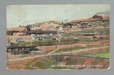Victor-COLORADO-c1910-PORTLAND-INDEPENDENCE-MINES-Gold-Mining-Mine