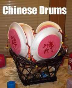 How to make Chinese New Year Drums + more Chinese New Year Crafts for Kids