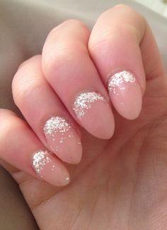 Glitter fade #nails