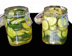 Alton Brown's Bread and Butter Pickles: Leftover pickle brine can be added to marinades, salad dressings or mayo. Oh, and pickle juice in beer really is quite refreshing.