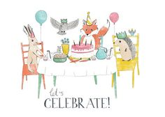 Let's Celebrate // Greeting Card