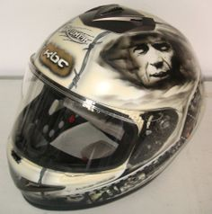 "KBC Magnum  Model - Hand Painted Helmet - ""The Great Escape Film"" Theme"