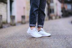 """Découvrez les """"Nike - Chaussures / Baskets WMNS Air Max 1 Ultra Essentials en blanc"""" sur Jessica"""