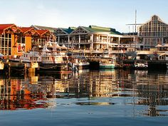 V&A waterfront. Cape town, south africa