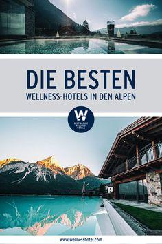 Einen unvergesslichen Wellness-Urlaub versprechen die traumhaften Best Alpine Wellness Hotels. Sie warten mit einem großen Angebot an Beauty- und Relaxprogrammen, Sport- und Freizeitaktivitäten sowie gekrönten Küchen auf Dich. Also los: gleich Deinen Wellnessauszeit im Design Hotel planen! Wellness Hotel Österreich | Wellness Hotel Italien | Spa Wellness Design Hotel, Switzerland, Travelling, Dan, Wanderlust, Europe, Explore, Adventure, Mountains