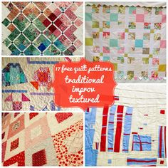Make a quilt: 17 free tutorials