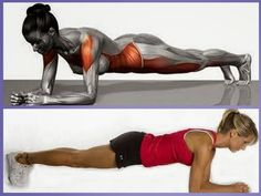 Gym Workouts, Cardio, Healthy Lifestyle, Weight Loss, Exercise, Sports, Photography, Women, Plank
