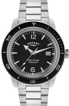Rotary Watch Gents Stainless Steel Bracelet #add-content #bezel-unidirectional #bracelet-strap-steel #brand-rotary #case-depth-13mm #case-material-steel #case-width-40mm #classic #date-yes #delivery-timescale-1-2-weeks #dial-colour-black #gender-mens #movement-quartz-battery #new-product-yes #official-stockist-for-rotary-watches #packaging-rotary-watch-packaging #style-dress #subcat-rotary-core-mens #supplier-model-no-gb02694-04 #warranty-rotary-official-lifetime-guarantee…