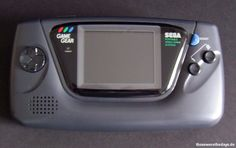 Sega Game Gear - SEGA 1990...I was sooo excited to get this when I was a kid!