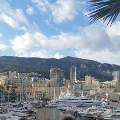 #PortHercule Montecarlo ⚓ #monaco #friends #sea #sun #sunnyday #relax by mrs.battelli from #Montecarlo #Monaco