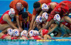 Team Spain Waterpolo | London 2012 #Olympics