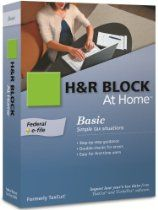 H&R Block At Home 2009 Basic Federal + eFile [Formerly TaxCut] //  Description Guidance for all your personal tax situations. Federal forms. Step-by-step interviews guide you through a customized experience relevant to your tax situation. Everything you need to prepare your federal taxes in one complete program. //   Details   Sales Rank: #3564 in Software  Brand: H&R Block Model: 1033600-// read more >>> http://Soler664.iigogogo.tk/detail3.php?a=B002SR4RYS