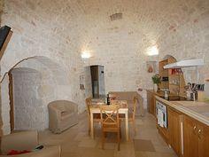 """Interior of a """"trulli"""". Puglia, Italy"""