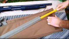 The Tactical Shotgun Scabbard by Beez Combat Systems at http://survivallife.com/2015/11/02/bcs-tactical-shotgun-scabbard/