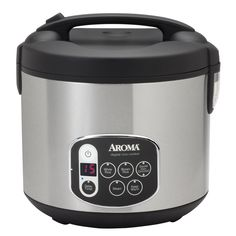 Pot Style Rice Cooker Renewed 16-Cup UNCOOKED Cooked ARC-7216NG Aroma Housewares 32-Cup