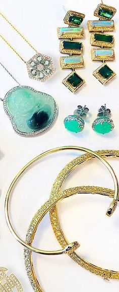 Green with envy #jewelry
