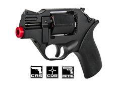 Iron Airsoft CNC Aluminum Rhino Revolver Airsoft Gun