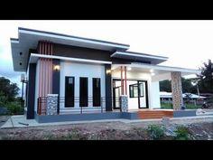 New house fachada one floor Ideas House Plans One Story, New House Plans, Modern House Plans, Small House Plans, Box House Design, Modern Small House Design, Modern Design, Modern Bungalow House, Bungalow House Plans