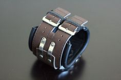 Mens Watch Steampunk Wrist Watch Leather Gifts for Men by dganin
