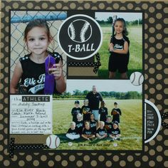 T-ball - Scrapbook.com