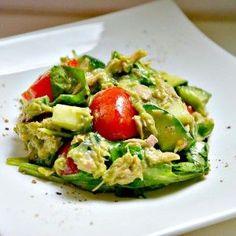 Thunfisch-Avocado Salat