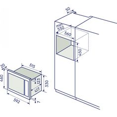 Electrolux EMS 26204 OX Micro - Linea Quadro microonde - PuntoInox