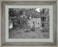 Walnut Grove School Ruins Framed Print By Bonfire #Photography