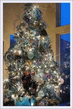 Purple chocolat home icy aqua splendor my new christmas for Decoration 3 chocolat