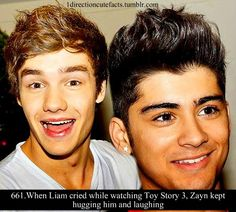 Zayn would be the best guy to watch movies with that make you cry!