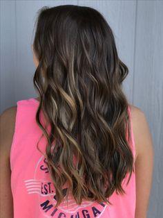 Fall hair #balayage #ombre #hairbyashleytaylor #highlights #hair #waves