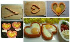 salchichas y huevos