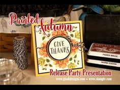 Make a Hidden Panel Card with Stephanie Barnard from The Stamps of Life Thanksgiving Cards, Christmas Cards, Stamp Tv, Sunnies Studios, Butterfly Cards, Give Thanks, Cardmaking, Stampin Up, Projects To Try