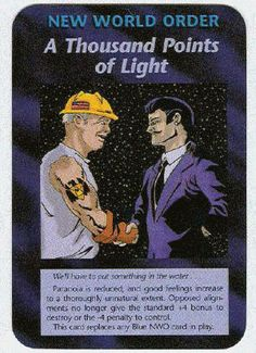 Illuminati Card Game - A Thousand Points of Light
