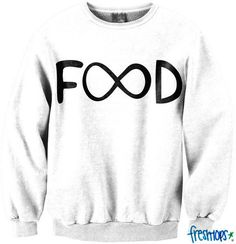 Infinite Food Crewneck - Fresh-tops.com